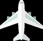 飛行機のアイコン