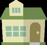 家のイラストアイコン