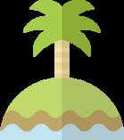 南の島のアイコン