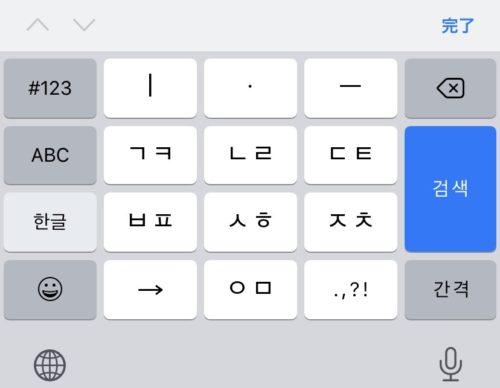 10キーのキーボード